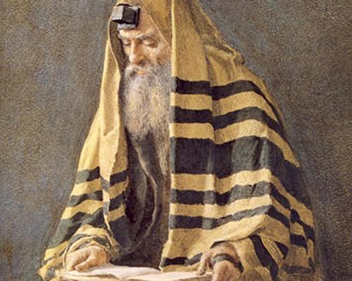 М.П. Клодт. Еврей на молитве