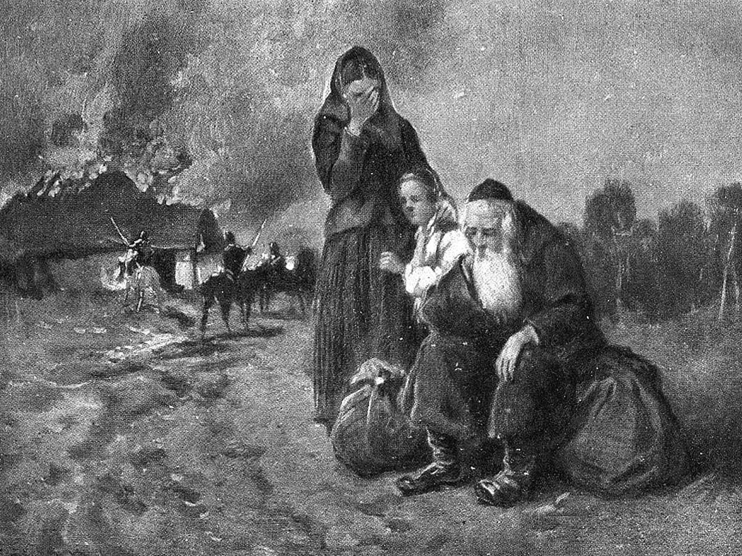 Николай Васильевич и Матвей Самуилович