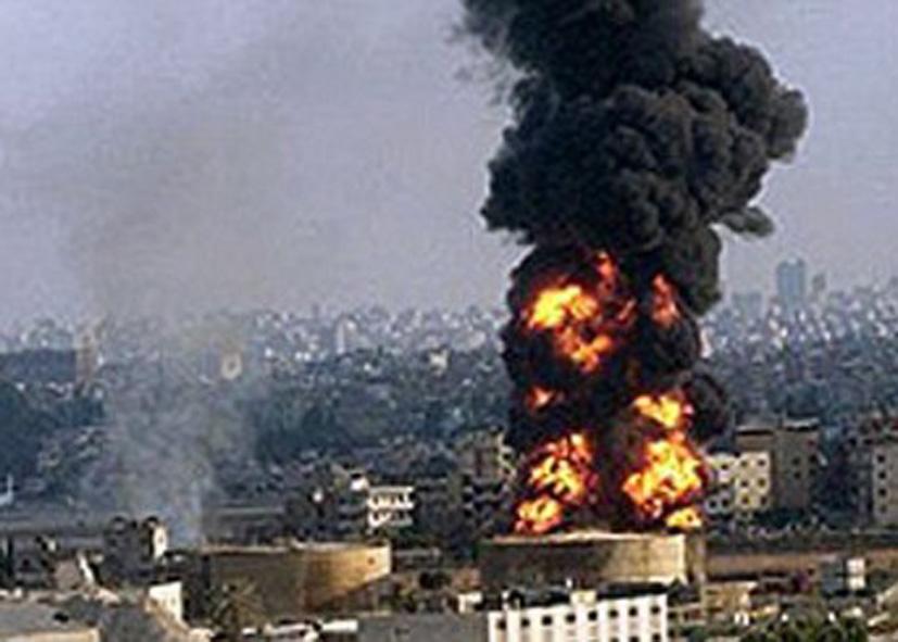 Взрыв на ракетной базе Ирана