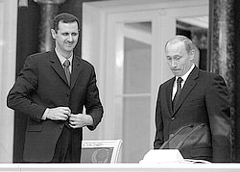 Почему Россия поддерживает тирана