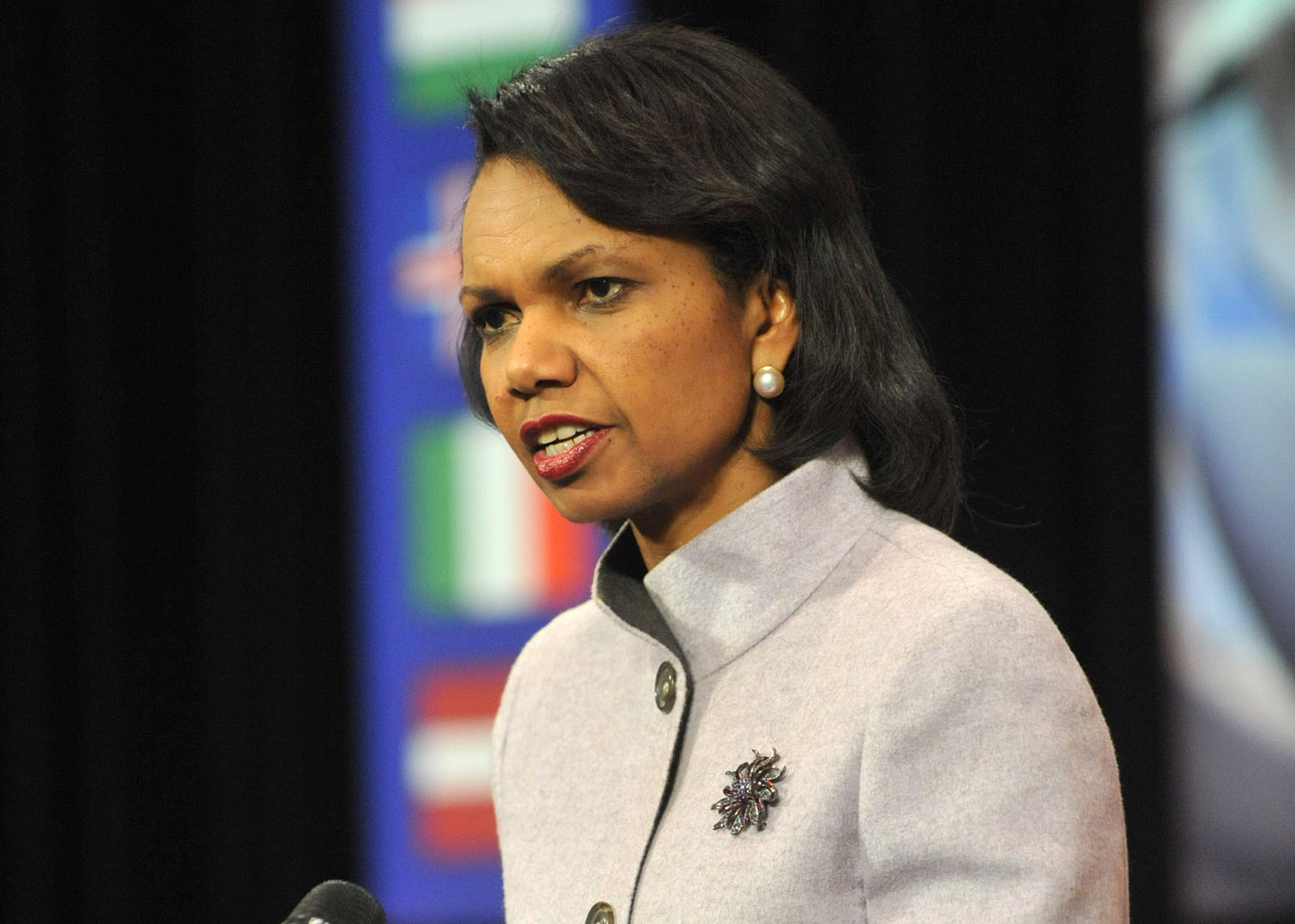 Foreign Ministers Meeting at NATO Headquarters in Brussels- Press Conference US Secretary of State, Condoleezza Rice
