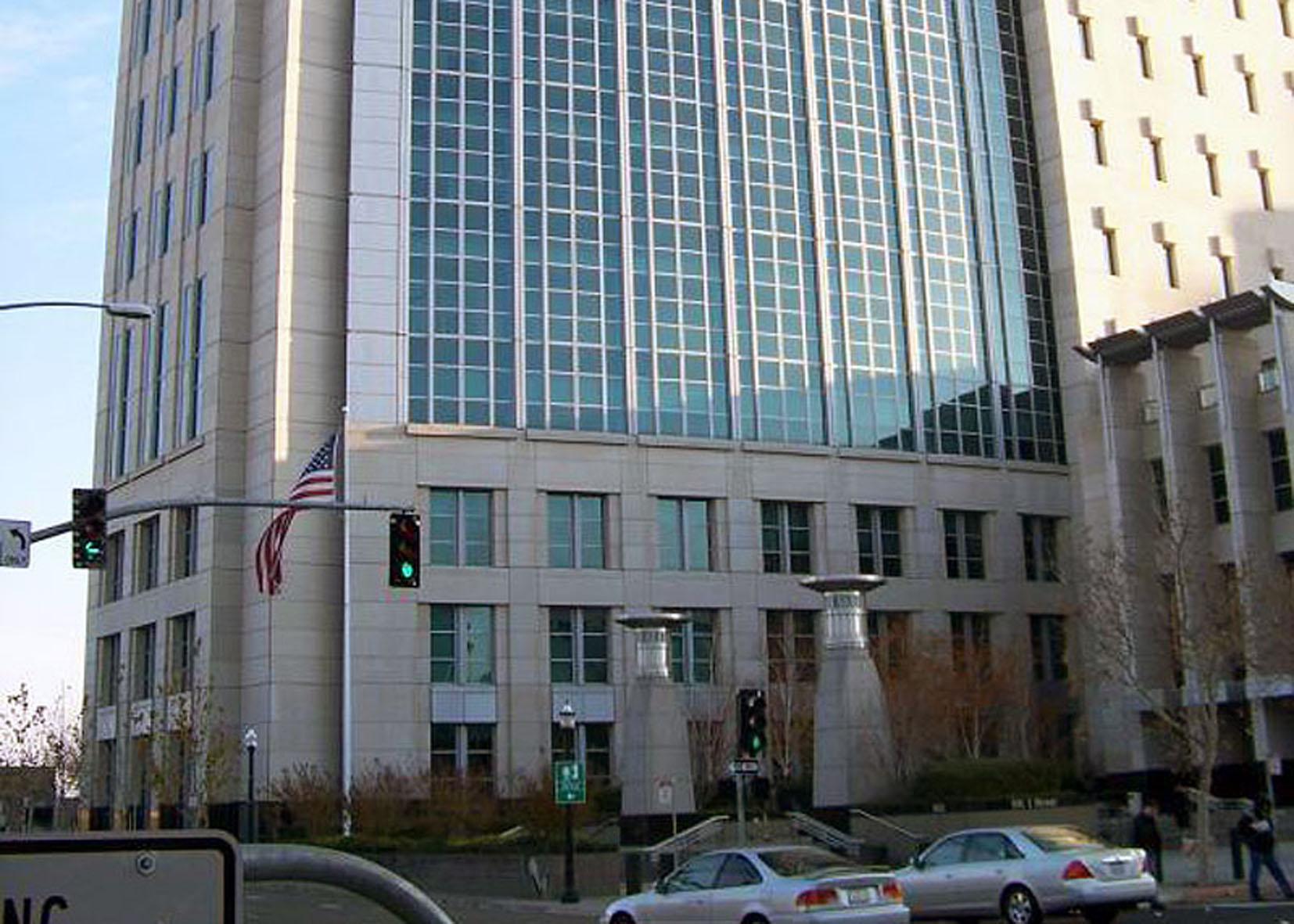 Здание федерального суда Сакраменто