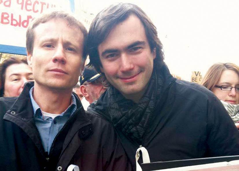 Юрий Моша (слева)  и Павел Ходорковский