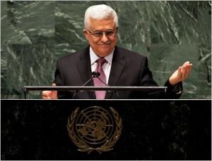 Махмуд Аббас выступает на 67-й Генеральной Сессии ООН. 29 ноября 2012 г.
