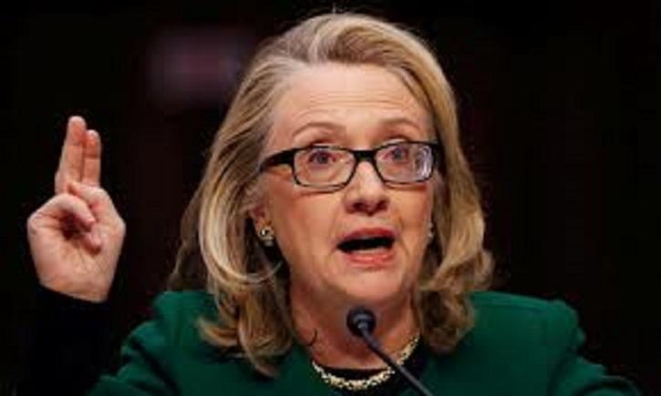 Hillary  Clinton under oath