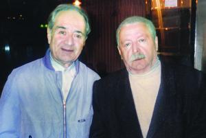Анатолий Алексин и Юрий Левитанский