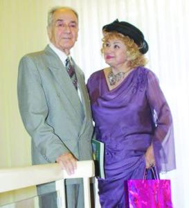 Навеки вместе. Анатолий Алексин с женой Татьяной