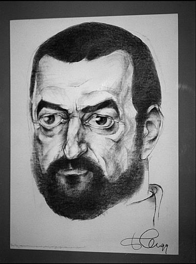 Григорий Горин. Рисунок Б. Жутовского