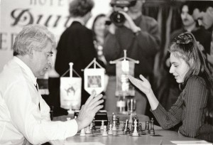 Матч Бориса Спасского  и Юдит Полгар, 1993 год