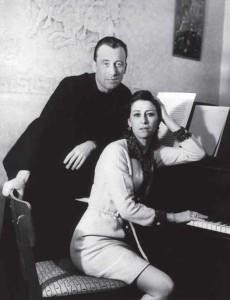 С мужем Родионом Щедриным