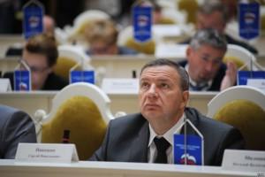 Сергей Никешин на заседании Законодательного собрания Санкт-Петербурга