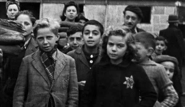 Еврейские дети в концлагере Дранси