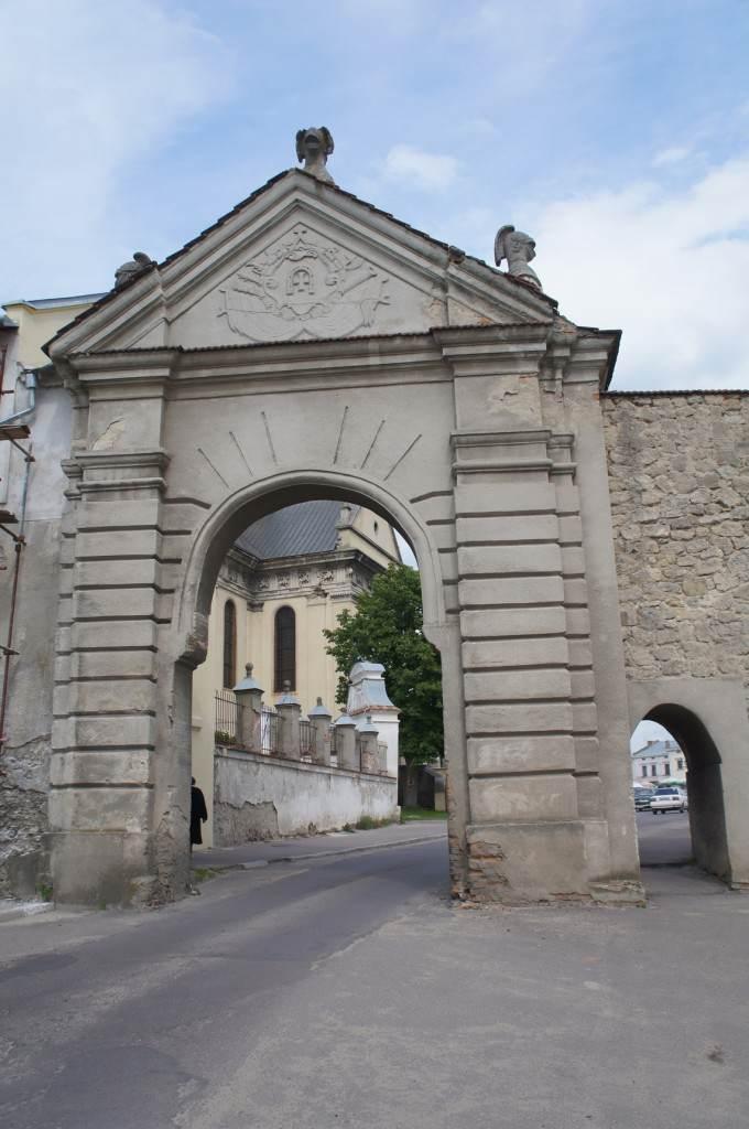 Ворота Жовквы сегодня