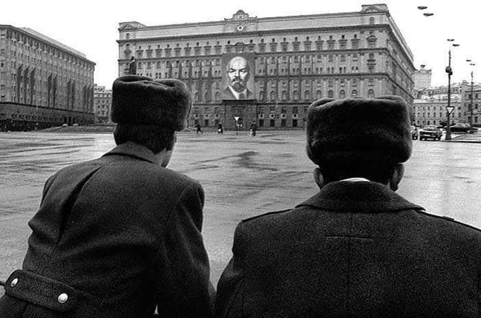 Здание КГБ СССР в Москве