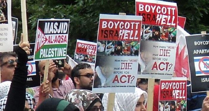 Anti-Israeli-demo-in-Toronto-2-CIJnews