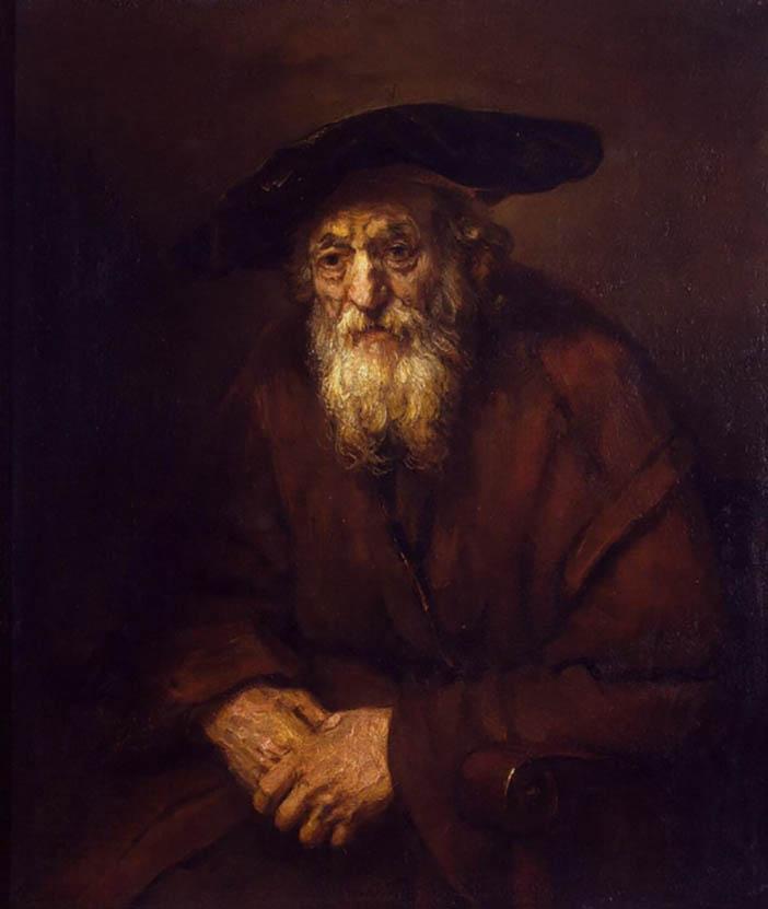 Портрет сефардского раввина  (Мужчина с длинной бородой)