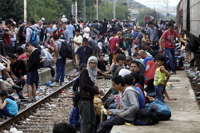 Беженцы с Ближнего Востока в Европе