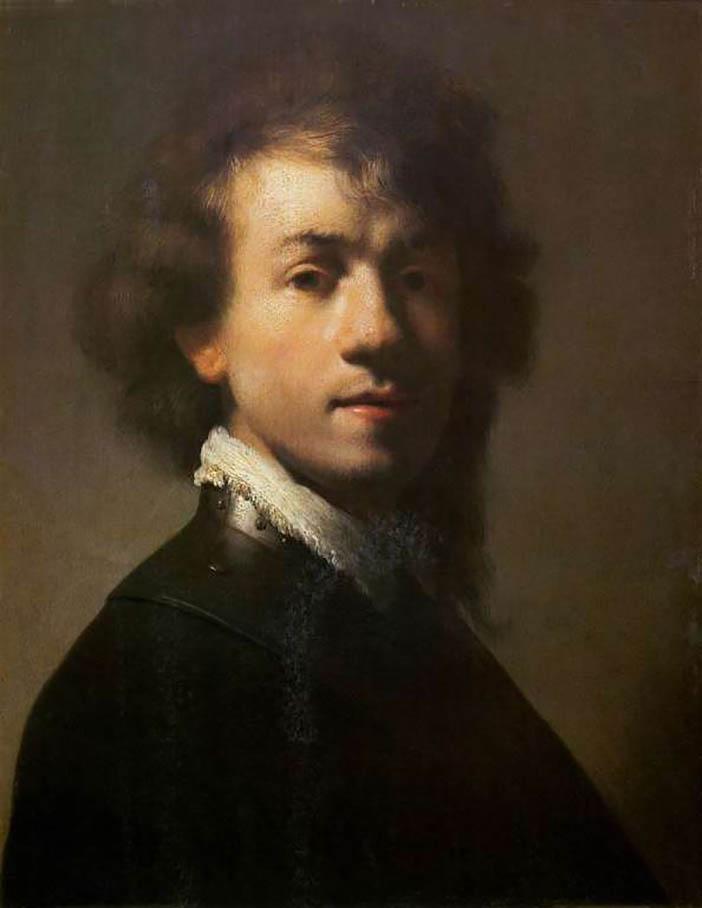 Автопортрет в латном нашейнике. Около 1629 года