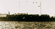 Судно «Струма» в порту Стамбула, 1942 год