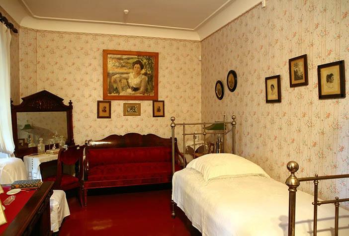 Комната Ольги Леонардовны Книппер в доме-музее А. П. Чехова в Ялте