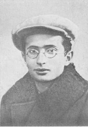 Юный Матвей Бронштейн