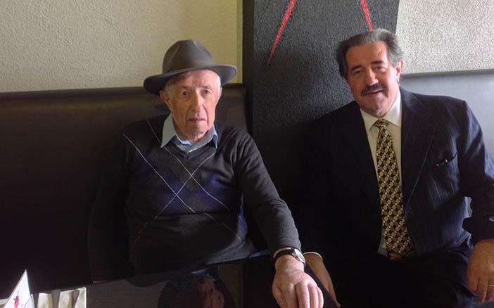 Алекс Ровт с отцом