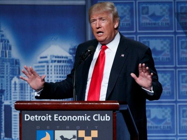8 августа 2016. Трамп излагает свою экономическую программу в Детройте