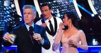 Райан Локти и Черил Бёрк в эфире «Танцев со звездами»