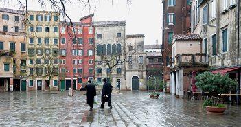Площадь в венецианском районе Гетто