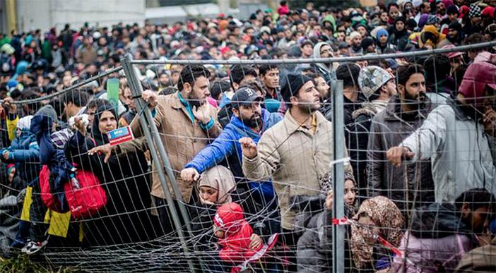 Нашествие беженцев в Европе