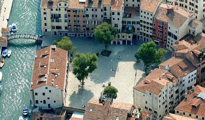 Венецианское Гетто. Вид с птичьего полета