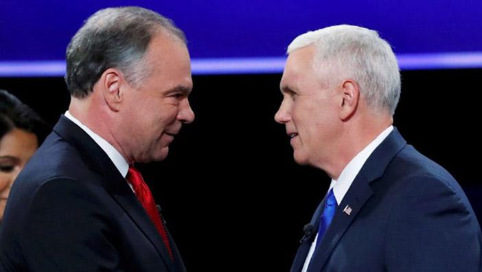 Тим Кейн от демократов и Майк Пенс от республиканцев — кандидаты в вице-президенты