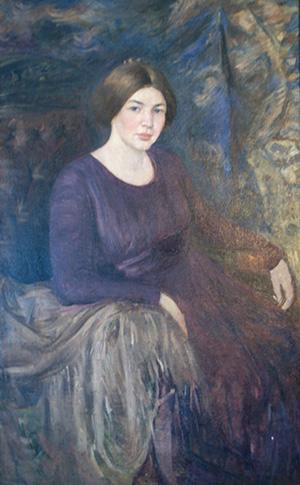 Портрет Любови Дмитриевны Менделеевой