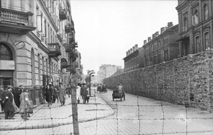 Polen, Ghetto Warschau, Mauer