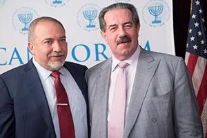 Авигдор Либерман и Алекс Ровт