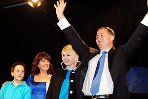 Джон Ки, премьер-министр Новой Зеландии (2008–2016)  со своей семьей