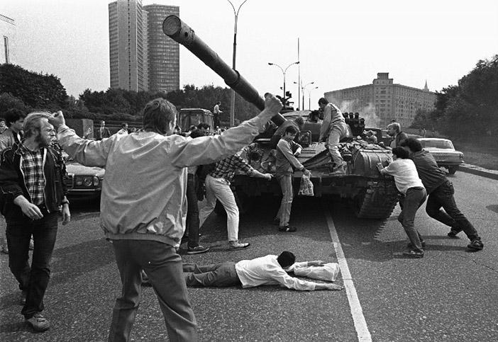 Путч в Москве, август 1991 года