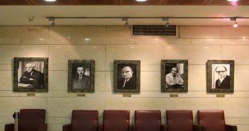 В зале заседаний правительства