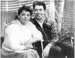 Аркадий Райкин с женой Руфью Марковной