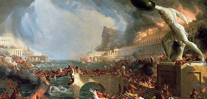 Томас Коле. Падение Римской империи