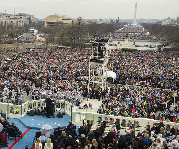 Инаугурация 45-го президента США Дональда Трампа. 20 января 2017 г. AP