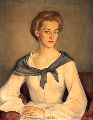 Портрет княжны Оболенской