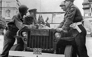 Патрульный виллис британской контрразведки в Вене