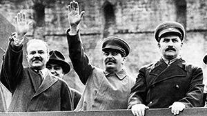 Вячеслав Молотов, Иосиф Сталин и Лазарь Каганович