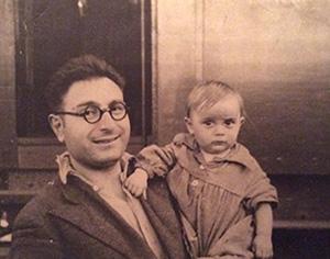 Лев Маргулис с дочкой Симой