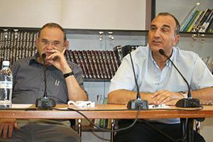 Президент WZO Авраам Дувдевани и генеральный директор Эли Коэн