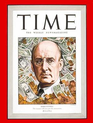 Журнал «Тайм» с изображением Генри Моргентау-младшего