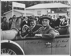 Президент Франклин Делано Рузвельт и Генри Моргентау