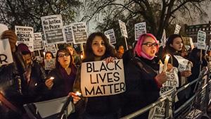 Митинг сторонников движения  «Черные жизни важны»