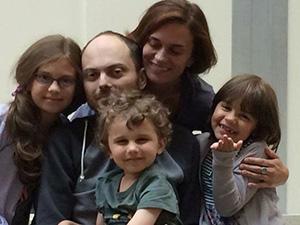 Семья Владимира Кара-мурзы-младшего